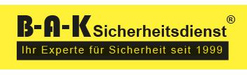Sicherheit-B-A-K Werne_Sicherheitsdienstleistung_Sicherheitstechnik_Alarmanlagen_Revierdienst_Objektschutz_Werne_Kamen_Unna_Dortmund_Coesfeld-Logo