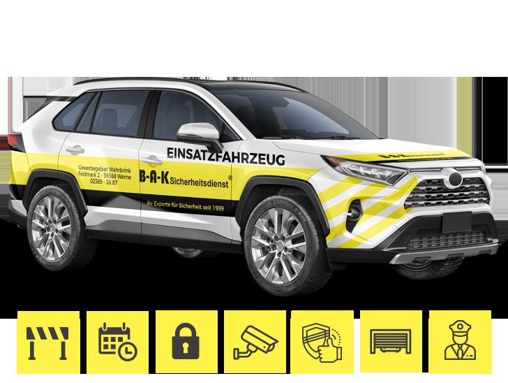 BAK-Sicherheitstechnik_Einsatzfahrzeug_Sicherheit_Werne_Kamen_Unna_Dortmund